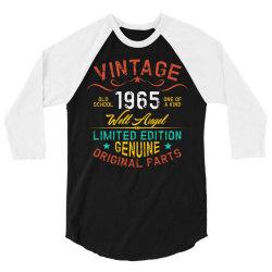 vintage 1965 well angel 3/4 Sleeve Shirt   Artistshot