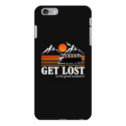 get lost in the great outdoors iPhone 6 Plus/6s Plus Case | Artistshot