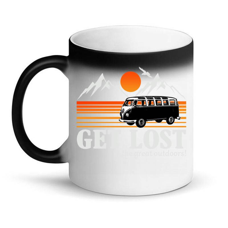 Get Lost In The Great Outdoors Magic Mug | Artistshot