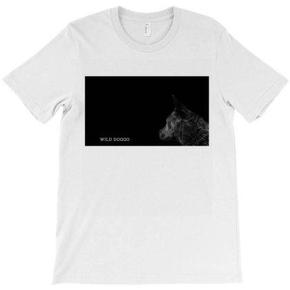 Wild Doggo T-shirt Designed By Shrez