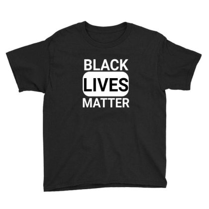 Black Lives Matter Youth Tee Designed By Yahia1