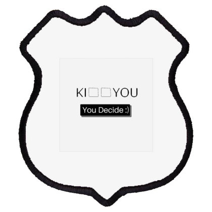 You Decide Shield Patch Designed By Varu_0210