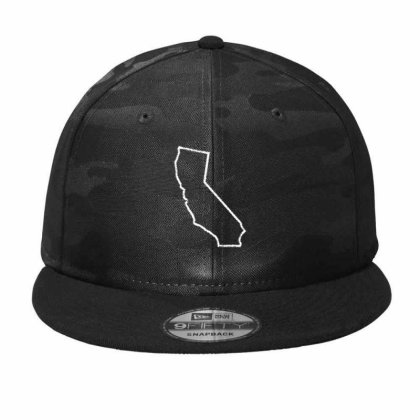California Camo Snapback Designed By Madhatter