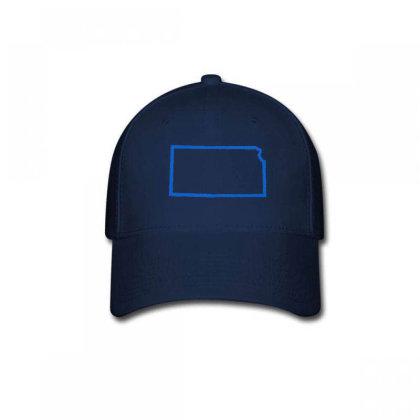 Kansas Baseball Cap Designed By Madhatter