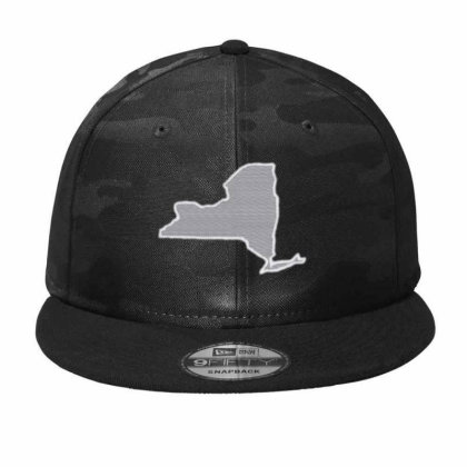 New York Camo Snapback Designed By Madhatter