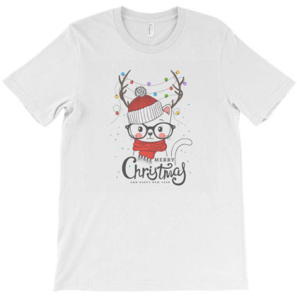 Merry Christmas T-shirt Designed By Disgus_thing