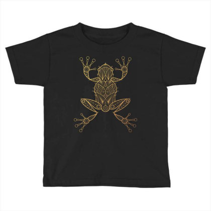 Frog Toddler T-shirt Designed By Estore