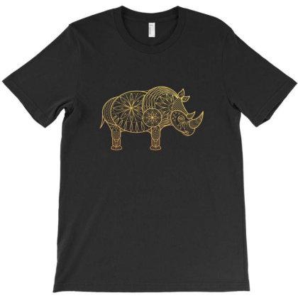 Rhinoceros T-shirt Designed By Estore