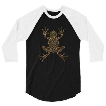 Frog 3/4 Sleeve Shirt Designed By Estore