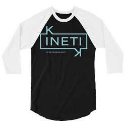 kinetic fitness gym sport 3/4 Sleeve Shirt | Artistshot