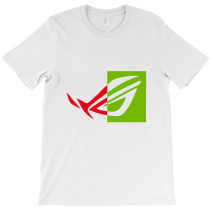 Asus Rog T-shirt Designed By Dc47