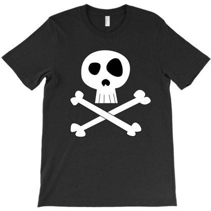 Skull And Crossbones T-shirt Designed By The Slackyartist