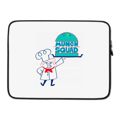 Munch Squad Laptop Sleeve Designed By Pinkanzee
