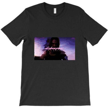 Cyberpunk 2077 T-shirt Designed By Dc47