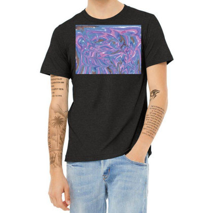 Acid Simulation Heather T-shirt Designed By Hairsnags