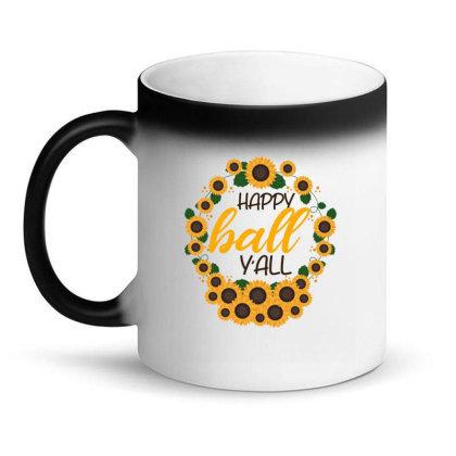 Happy Fall Sunflowers Magic Mug Designed By Bettercallsaul