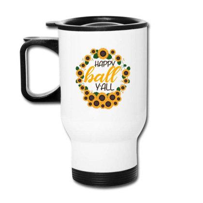 Happy Fall Sunflowers Travel Mug Designed By Bettercallsaul