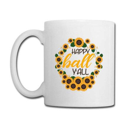 Happy Fall Sunflowers Coffee Mug Designed By Bettercallsaul