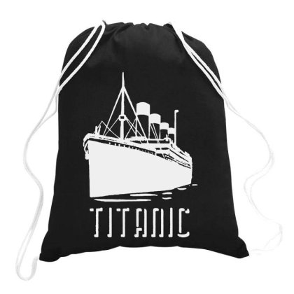 Titanic Drawstring Bags Designed By Ninabobo