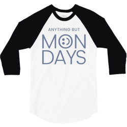 hate monday work 3/4 Sleeve Shirt | Artistshot