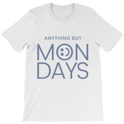 Hate Monday Work T-shirt Designed By Designisfun
