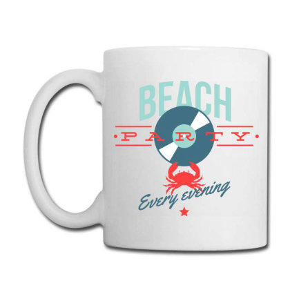 Beach Party Every Evening Coffee Mug Designed By Estore