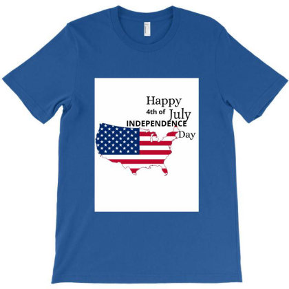 4th Of July Independence Day Tee T-shirt Designed By Sandy's Wall