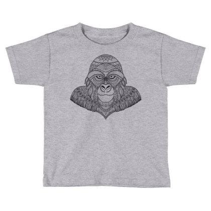 Gorilla, Monkey Toddler T-shirt Designed By Estore