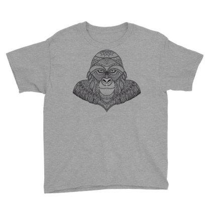 Gorilla, Monkey Youth Tee Designed By Estore