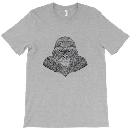 Gorilla, Monkey T-shirt Designed By Estore