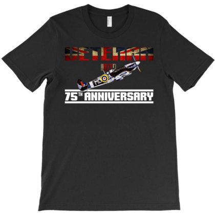 Ve Day 75th Anniversary  T Shirt T-shirt Designed By Blackstars