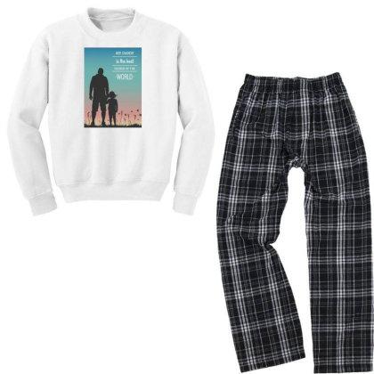 Daddy Youth Sweatshirt Pajama Set Designed By Creative_buddy