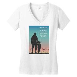 Daddy Women's V-Neck T-Shirt | Artistshot