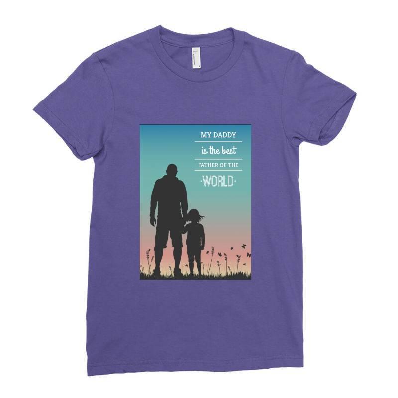 Daddy Ladies Fitted T-shirt | Artistshot