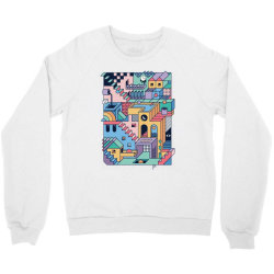 90s escher Crewneck Sweatshirt | Artistshot