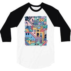90s escher 3/4 Sleeve Shirt | Artistshot