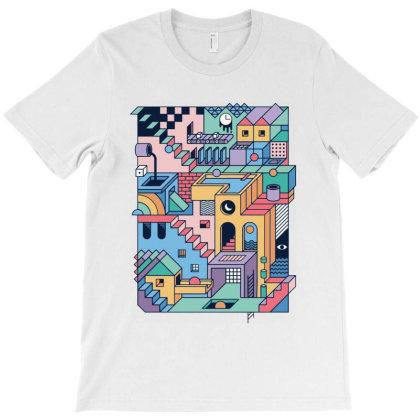 90s Escher T-shirt Designed By Top Seller