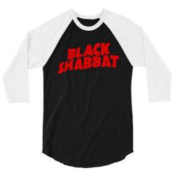 black shabbat 3/4 Sleeve Shirt | Artistshot