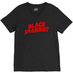 black shabbat V-Neck Tee | Artistshot