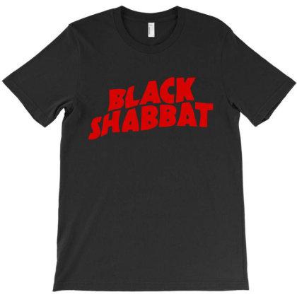 Black Shabbat T-shirt Designed By Mom Tees