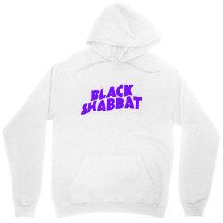 black shabbat in purple Unisex Hoodie   Artistshot