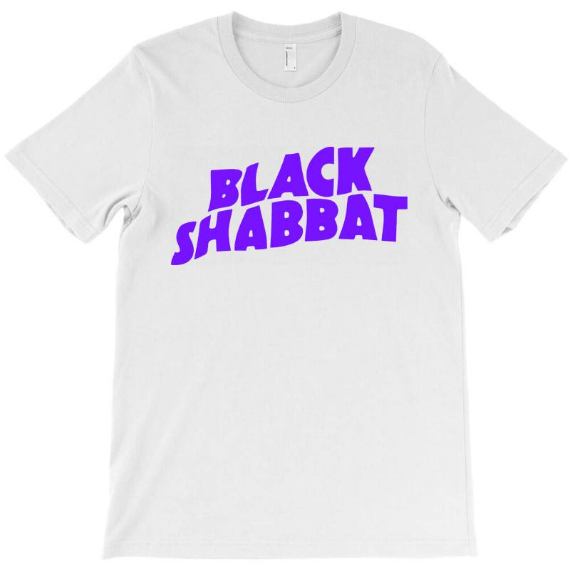 Black Shabbat In Purple T-shirt   Artistshot