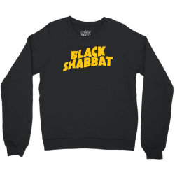 black shabbat in yellow Crewneck Sweatshirt | Artistshot
