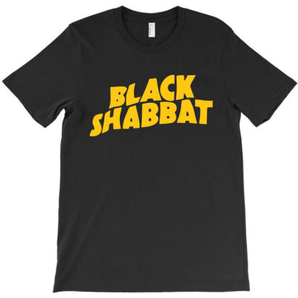 Black Shabbat In Yellow T-shirt Designed By Top Seller