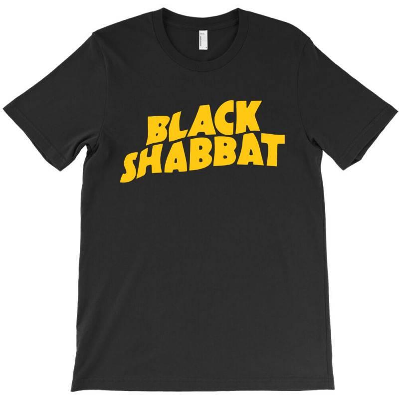 Black Shabbat In Yellow T-shirt | Artistshot