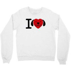 i love dogs   dog lover gift Crewneck Sweatshirt | Artistshot