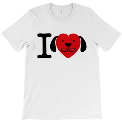 I Love Dogs   Dog Lover Gift T-shirt Designed By Top Seller