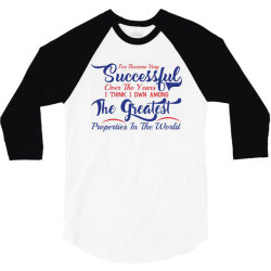 i'he become very succesfful over the years 3/4 Sleeve Shirt | Artistshot