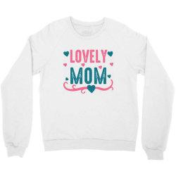 lovely mama Crewneck Sweatshirt | Artistshot