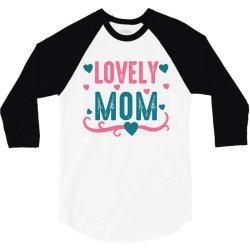 lovely mama 3/4 Sleeve Shirt | Artistshot